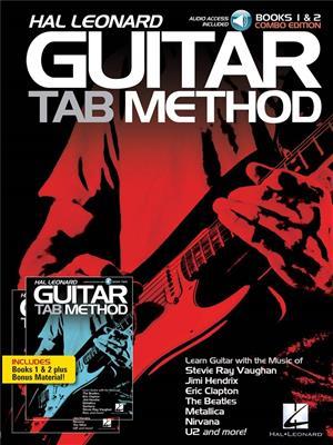 Hal Leonard Guitar Tab Method: Books 1 And 2 Combo Edition