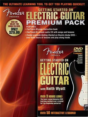 Fender Presents: Getting Started On Electric Guitar � Premium Pack
