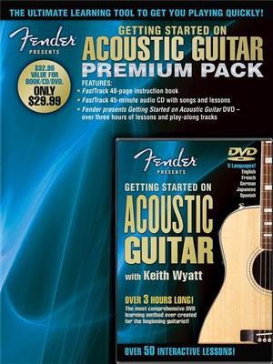 Fender Presents: Getting Started On Acoustic Guitar � Premium Pack