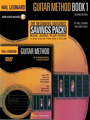 Hal Leonard Guitar Method: Book, CD And DVD Pack. Sheet Music, CD, DVD (Region 0)