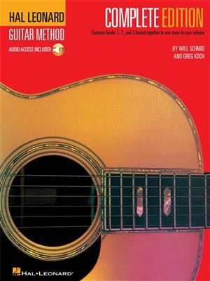Hal Leonard Guitar Method: Complete Edition (Book/Online Audio)