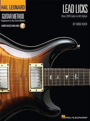Hal Leonard Guitar Method: Lead Licks