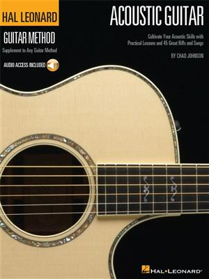 Hal Leonard Acoustic Guitar Method (Book/Online Audio)
