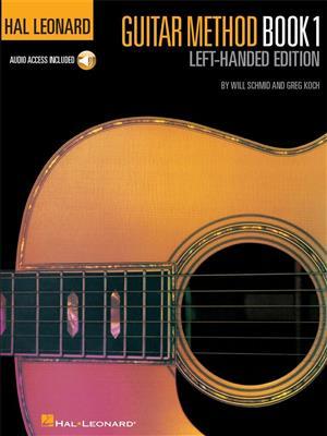 Hal Leonard Guitar Method: Book 1 - Left-Handed Edition (Book/Online Audio)