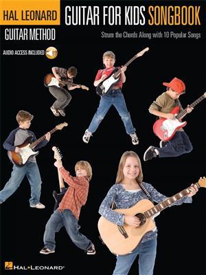 Hal Leonard Guitar Method: Guitar For Kids Songbook (Book/Online Audio)