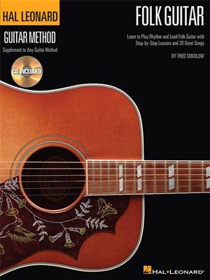 Hal Leonard Folk Guitar Method (Book/Online Audio)