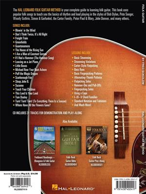 Hal Leonard Folk Guitar Method (Book/Online Audio)