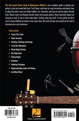 Hal Leonard Guitar Method: Guitar Setup And Maintenance (Compact Edition)