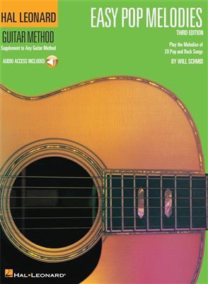 Hal Leonard Guitar Method: Easy Pop Melodies - Third Edition (Book/Online Audio)