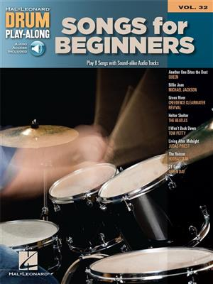 Drum Play-Along: Volume 32 (Book/Online Audio)