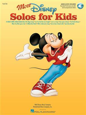 More Disney Solos For Kids Cover