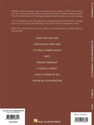 Pro Vocal Women's Edition Volume 12: Ella Fitzgerald (Book/CD)