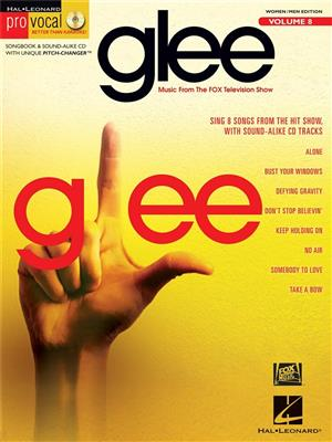 Pro Vocal Volume 8: Glee. Voice Sheet Music, CD Cover