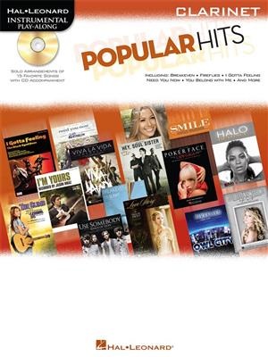 Instrumental Play-Along: Popular Hits - Clarinet (Book/Online Audio)