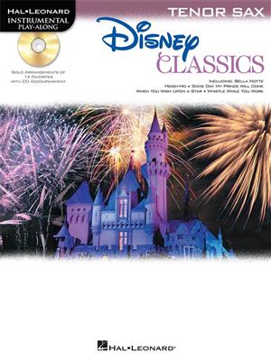 Tenor Saxophone Play-Along: Disney Classics