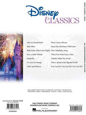 Violin Play-Along: Disney Classics