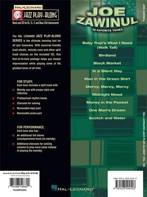 Jazz Play-Along Volume 140: Joe Zawinul