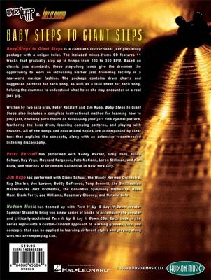Baby Steps To Giant Steps: The Road To Jazz Drumming. Drums Sheet Music, CD