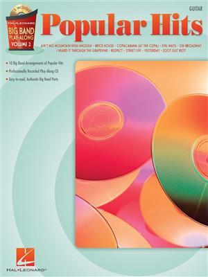 Big Band Play-Along Volume 2: Popular Hits - Guitar. Sheet Music, CD