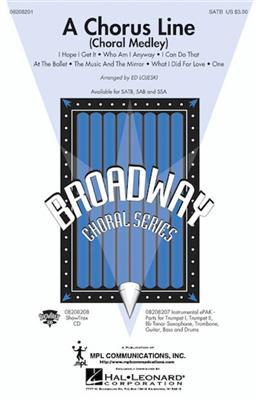 A Chorus Line Choral Medley (Arr. Lojeski) (SAB)