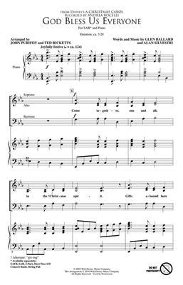 Andrea Bocelli: God Bless Us Everyone (Disney's A Christmas Carol) - SAB
