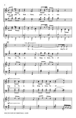 Sing We Now Of Christmas - SATB