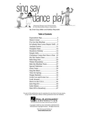 Cristi Cary Miller and Kathlyn Reynolds: Sing Say Dance Play Cover