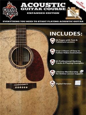 House Of Blues Acoustic Guitar Course