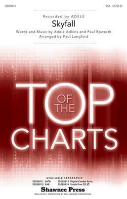 Adele: Skyfall (Langford) - SSA/Piano. Sheet Music