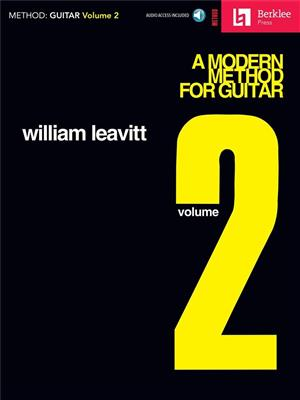 A Modern Method For Guitar: Volume 2 (Book/CD)