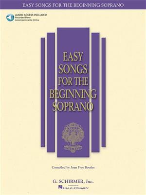 Easy Songs For The Beginning Soprano