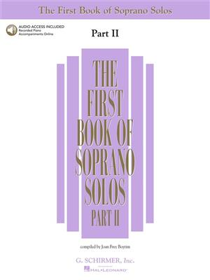 The First Book Of Soprano Solos - Part II (Book/Online Audio)