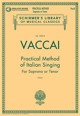 Practical Method Of Italian Singing: For Soprano Or Tenor (Book/Online Audio)