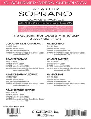Arias For Soprano - Complete Package Cover
