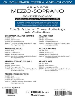 Arias For Mezzo-Soprano - Complete Package