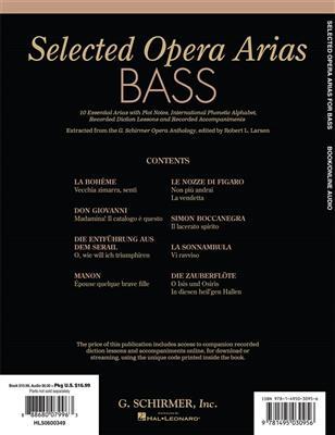 Selected Opera Arias: Bass