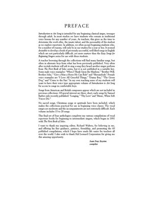 Introduction To Art Song For Mezzo-Soprano/Alto (Book/Online Audio)