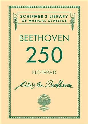 A6 Spiral Bound Notebook - Beethoven 250