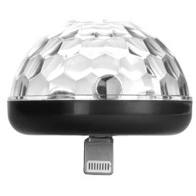 iPhone Disco Light Black