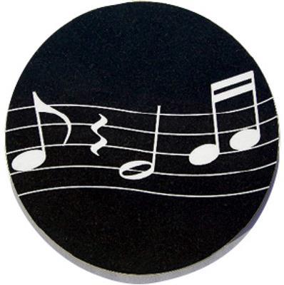 Mugmats Wavy Music Black