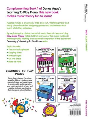 Denes Agay's Learning To Play Piano - Easy Music Theory
