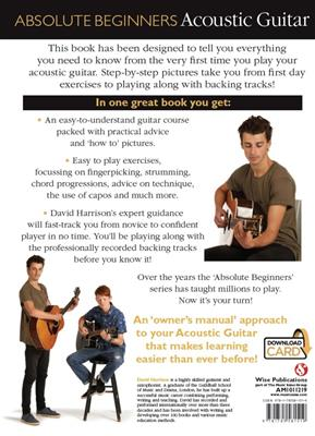 Absolute Beginners: Acoustic Guitar (Book/Audio Download). Sheet Music, Downloads