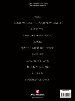 Adele: 25 (Easy Piano)