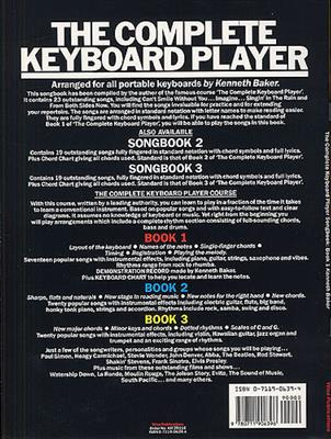 The Complete Keyboard Player: Songbook 1
