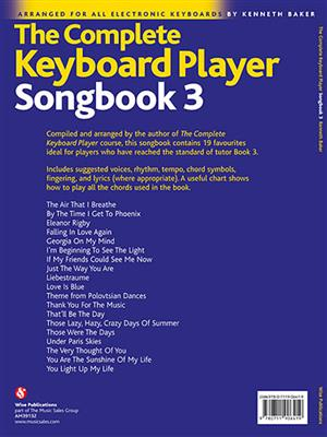 The Complete Keyboard Player: Songbook 3