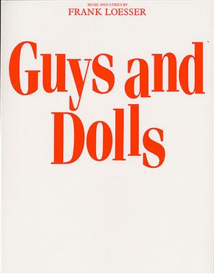 Frank Loesser: Guys And Dolls (Vocal Score) Cover