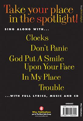 Cover for Sing With Coldplay