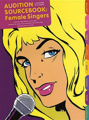Audition Sourcebook: Female Singers Cover