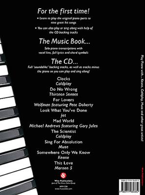 Play Piano With... Keane, Coldplay, Muse And Other Great Artists!