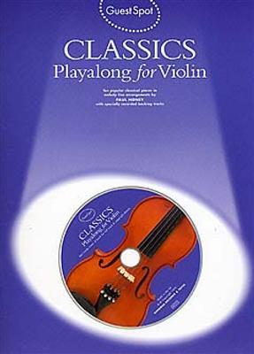 Guest Spot: Classics Playalong For Violin